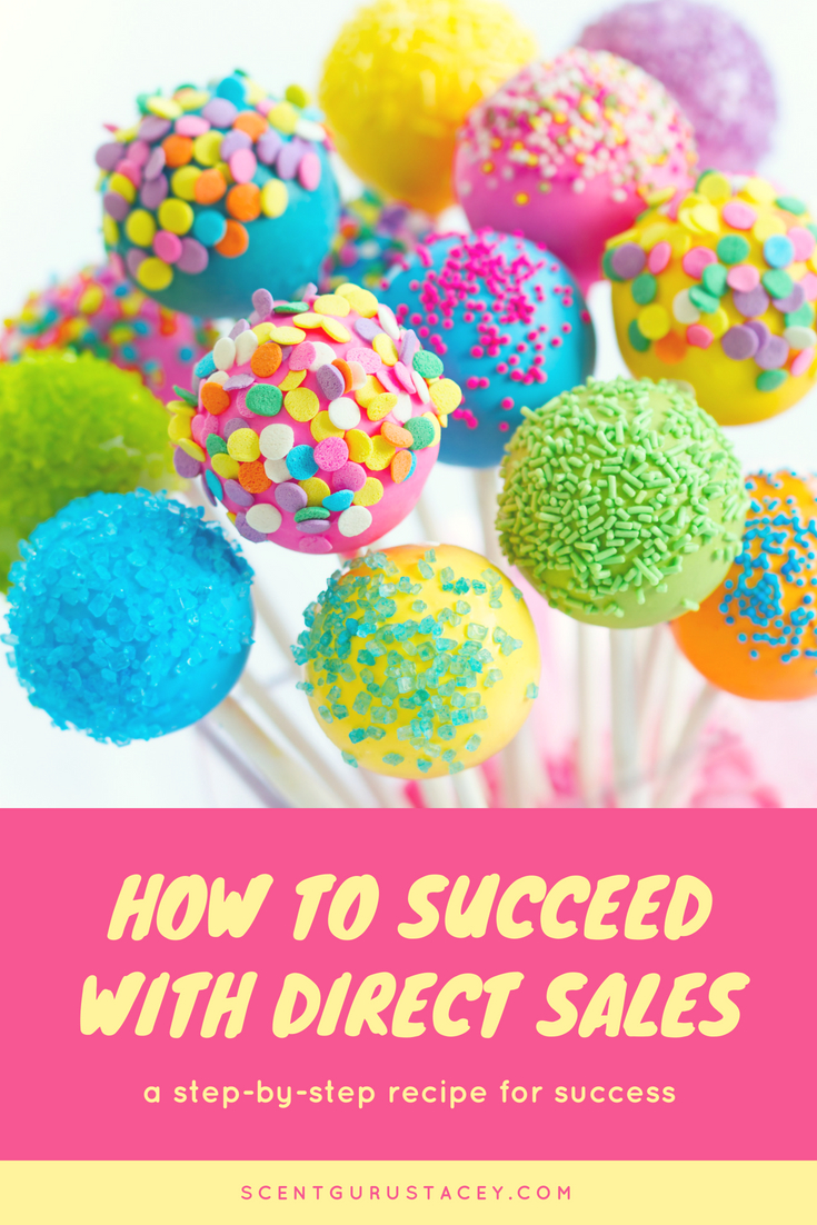steps for direct sales success
