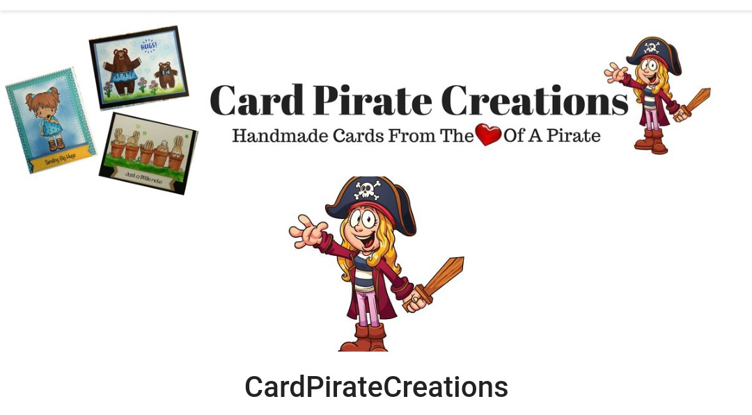 Cardpirate creations handmade cards from the heart of a pirate